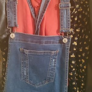 Short overalls Denim